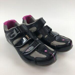 Specialized Womens Spirita RBX US 10.5 EU 42 Road Spin Cycling Shoe Black Pink