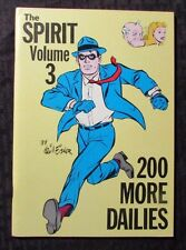 1980 THE SPIRIT 200 More Dailies v.3 by Will Eisner VF 8.0