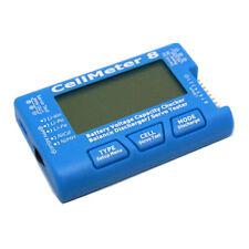 CellMeter-8 Digital Battery Capacity Checker LiPo LiFe Li-ion NiMH Cell Meter US