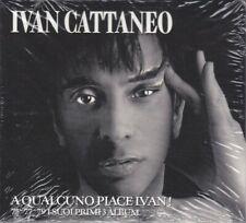 3 CD Audio Box Set IVAN CATTANEO - A QUALCUNO PIACE IVAN nuovo sigillato