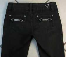 "C'est Toi ""SKINNY"" E.U.C. WOMEN'S PANTS BLACK DENIM JEANS. SIZE 3 INSEAM 30"
