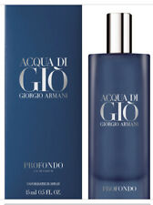 GIORGIO ARMANI ACQUA DI GIO PROFOND PARFUM 15 ML 0.5 OZ NEW SEALED! NIB PERFUME!