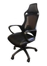 Chaise de bureau gaming ergonomique, style racing, siège gamer, accoudoirs