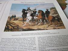 Frankfurt Archiv A 4 Geschichte 2048 Freiwilliger Landsturm zu Pferd 1840 Peroux