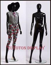 GM3-H schwarz Glanz abstrakte Schaufensterpuppe Mannequin weiblich Schick modern