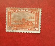 CANADA 20c POSTAGE STAMP FARMING used