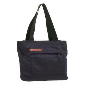 PRADA Sports Nylon Tote Bag Purple Auth ar3040