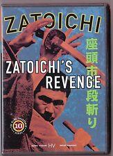 Zatoichi #10 Zatoichi's Revenge DVD Japanese w/Eng Subs Samurai w/ Inserts