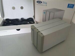 Disque Dur Externe LaCie 2BIG 8To Raid 1-0-jbod Thunderbolt 2 USB 3.0 PC / MAC