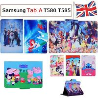 "Case Cover For Samsung Galaxy Tab A A6 10.1"" Inch T580 T585 Kids Disney Favorite"