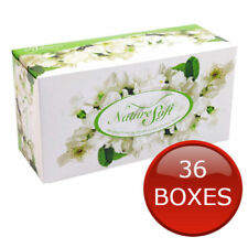 36 x FACIAL TISSUES BULK TISSUE BOXES BOX 2 PLY 180 SHEETS SOFT WHITE QUALITY