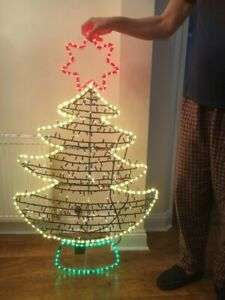 4ft Christmas Tree Light Up Outdoor/indoor Decoration