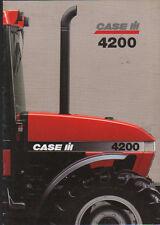 """CASE IH """"4200"""" Tractor Brochure Leaflet"""