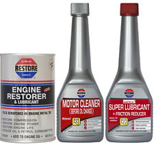AMETECH RESTORE Bundle NOISY 1L ENGINES - Engine Restorer, Flush, Super Lube