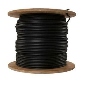 Southwire Service Entrance Wire 1000 ft. 1/1 Black Stranded Gas-Oil Resistant