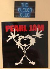 Pearl Jam Ten Sticker VTG Promo 1991 Alive Guy NEW Vedder MINT Rare LP 45 CD OOP