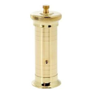 Chef  Brass Pepper Mill Alexander #502 7.5″
