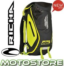 RICHA H20 DRY BAG RUCK SACK BACK PACK FLUO MOTORCYCLE WP 100% WATERPROOF 20L H2O