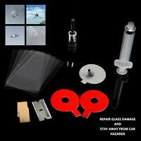 Auto Car Windscreen Windshield Glass Repair Kit Tool For Chip Crack Bullseye