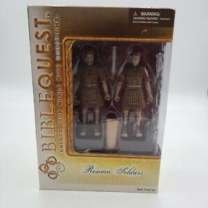 """Bible Quest ROMAN SOLDIERS 5"""" Action Figures NIB"""