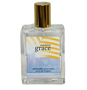 Philosophy Sunshine Grace Eau de Toilette  2 fl oz Summer Fragrance Perfume Coty