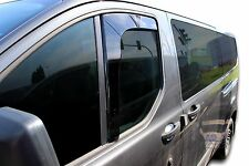 DFO15243 Ford Transit Custom  2012-up wind deflectors 2pc set TINTED HEKO
