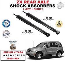 trasero Izquierdo Derecho Amortiguadores PARA Suzuki Vitara 1.6 1.9 D 2.0 TD 2.5