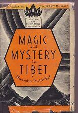 MAGIC & MYSTERY IN TIBET Alexandra David-Neel  1935 OCCULT Buddhism MYSTICS