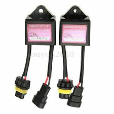 2x Xenon HID Light Relay Capactior Warning Error Canceller Decoder Anti Flicker