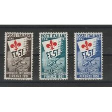 1951 ITALIA REPUBBLICA SERIE GIOCHI GINNICI FIRENZE 3 VAL MNH MF55011