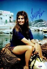 Sophia Loren Signed Authentic Autographed 8x12 Photo PSA/DNA #AA29630