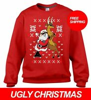LIT SQUAD UGLY CHRISTMAS SWEATER PARTY GREAT GIFT ALL SIZES FREE SHIPPING