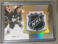 2016-17 Upper Deck Ultimate Collection NHL Logo Shield 1/1 Drew Doughty Kings