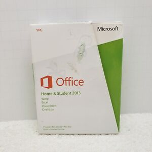 Microsoft Office Home and Student 2013 PKC 79G-03550 New Open Box