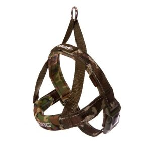 EZY-DOG QUICK FIT HARNESS HIGH QUALITY & COMFORT FOR DOG & OWNER (Green Camo)