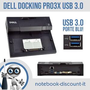 Dell PR03X II Docking Station USB 3.0 Replicatore Porte DELL LATITUDE Perfetta!