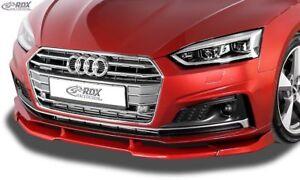 Fits Audi A5 (F5) Sline S5 (F5) Coupe Convertable Sportback - Front Lip Splitter