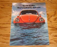 Original 1974 Volkswagen VW Beetle Sales Brochure 74