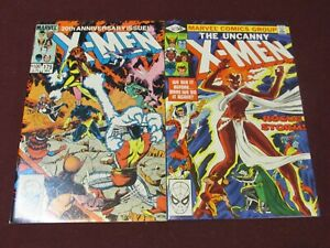 X-Men Key Bronze Age Issue Lot of 2 (#147 & #175 in VF+)*** Chris Claremont***