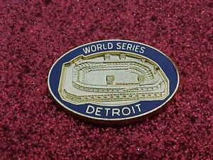 1984 Detroit Tigers World Series Media Press Pin - San Diego Padres