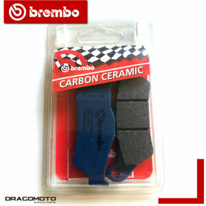 BMW R 1200 RT 2005 2006 pastillas de freno trasero CC BREMBO ceramica carbono