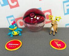Pokemon Nintendo TOMY Hasbro Battle Figures Series 9 Croconaw Stantler Set