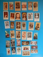 JOB  lot 36   HOLY CARD JESUS LIFE CROSS HEART SHEPHERD LAST SUPPER  VTUSA