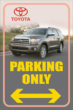 "Toyota 12""x18"" Full Color Metal Auto Parking Sign"