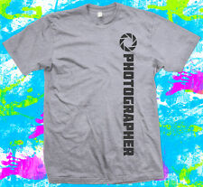 Photographer  - T Shirt - 4 colour options - Small to 3XL