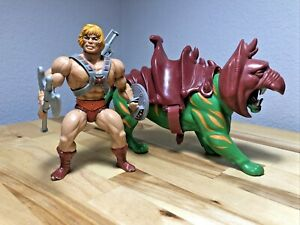MOTU Vintage He-Man and Battle Cat