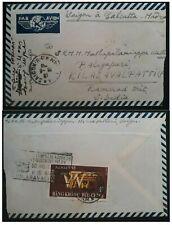 1961 South Vietnam  Airmail Cover ties $4 stamp canc Saigon
