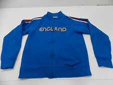 GOOD CONDITION MEDIUM BLUE ENGLAND ZIPUP TRACK JACKET