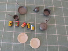 Vintage doll house kitchen supplies food 1960s?