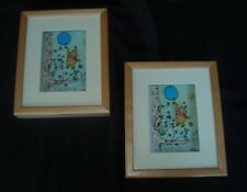 DISNEY WHINNIE THE POOH PAIR OF JEAN PIERRE WEILL 3D ART LIMITED TO 250